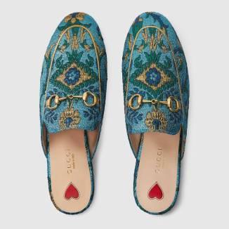 Slipper Gucci Malia Keana Fashion Blog