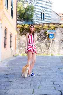 Malia Keana Cinque Terre playsuit saboskirt