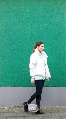 Malia Keana Puffer Jacket See by Chloe bag