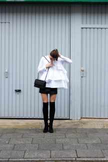 Malia Keana Blog Chanel 2.55 Ruffle Blouse