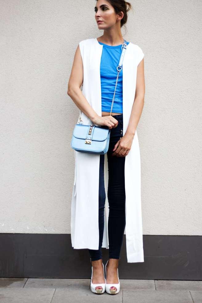 Malia Keana Stree Style Blouse Look