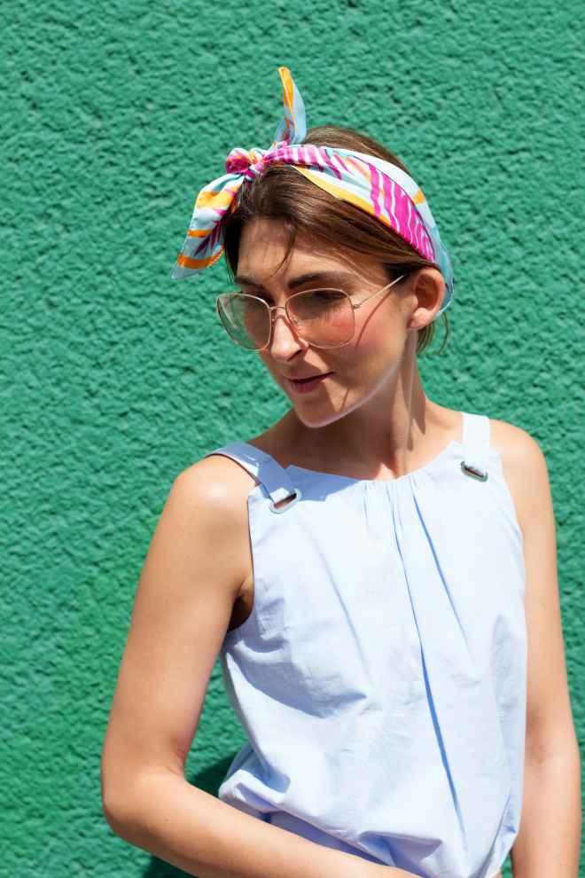 Summerscarve Turban Malia Keana Street Style