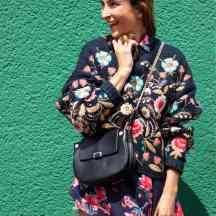 Floral sweater floral blouse Malia Keana Blog