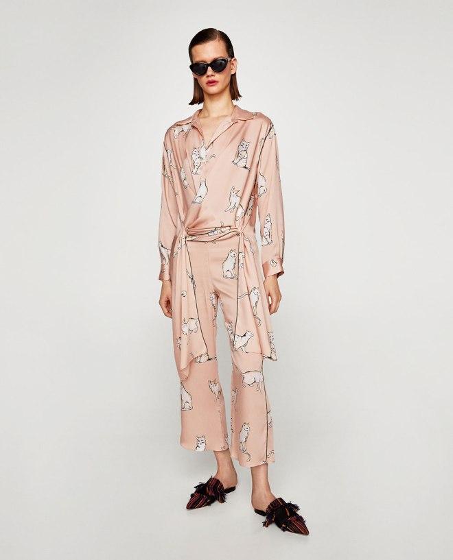 Pajama fall trend 2017 malia keana