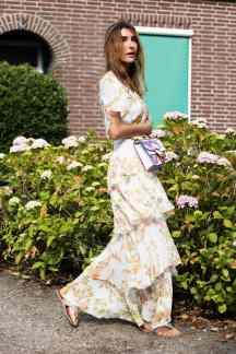 iStreet Style Ruffle floral Malia Keana