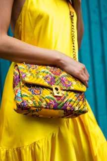Malia Keana Blog Yellow maxi dress asos