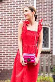 Pink Red Malia Keana