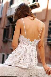 Lace dress chanel bag look venice