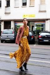 Mango Maxi Dress Street Style