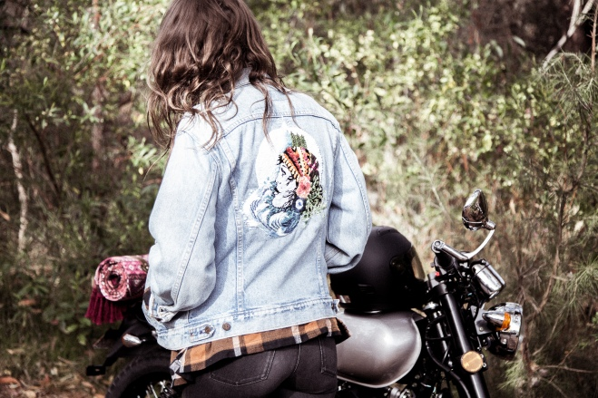 Gold Scout Kickstarter Reward custom vintage Levi Jacket