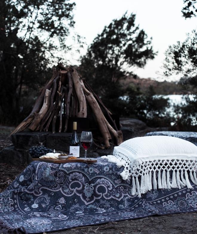 Gold Scout Picnic Rug - Gaia - Campfire